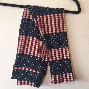 Lularoe vintage Americana OS Leggings